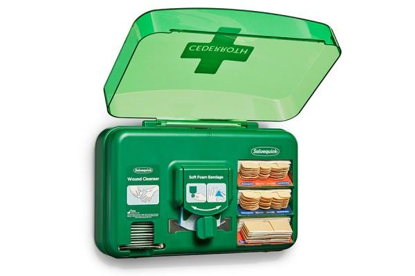 Dozownik z plastrami opatrunkowymi Cederroth Wound Care Dispenser