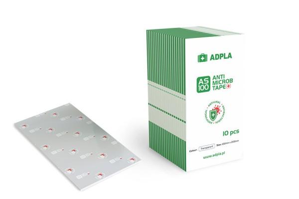 Taśma antywirusowa antybakteryjna AS-100 Anti Microb - arkusze