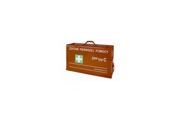 Przenośny Zestaw Pierwszej Pomocy ZPP typ C w walizce