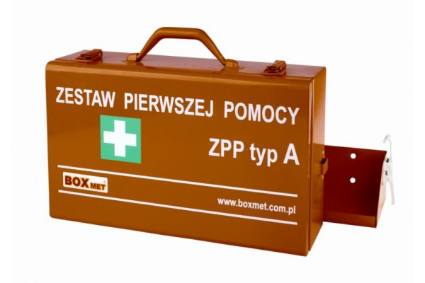 Przenośny Zestaw Pierwszej Pomocy ZPP typ A w walizce metalowej