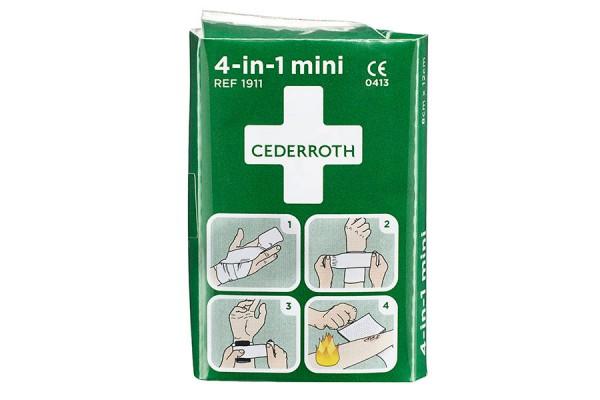 Mały zestaw do tamowania krwi 4-in-1 Cederroth