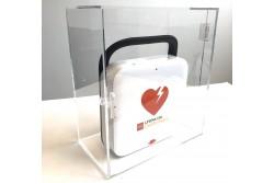 Szafka na AED przezroczysta z poliwęglanu