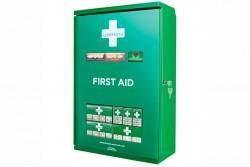 Apteczka ścienna metalowa Cederroth First Aid Cabinet