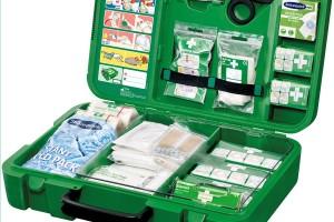DIN 13157 wyposażenie apteczki pierwszej pomocy