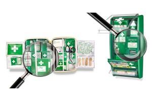 Wyposażenie apteczki pierwszej pomocy w zakładzie pracy