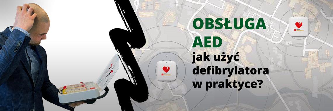 Obsługa AED. Jak działa defibrylator