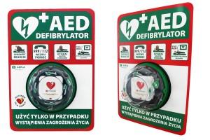Umiejscowienie defibrylatora AED LIFEPAK CR2