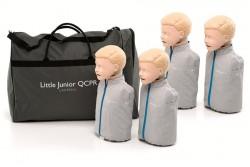 Fantomy do nauki reanimacji dziecięce Little Junior Laerdal QCPR 4-pak