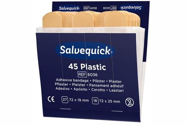 Plastry opatrunkowe plastikowe Salvequick Cederroth