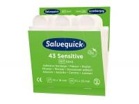 Plastry Salvequick Sensitive Cederroth REF 6943 do skóry wrażliwej
