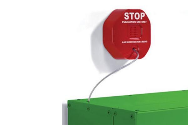Alarm do szafki do krzesełka ewakuacyjnego Stryker
