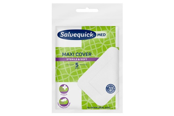 Sterylny opatrunek SalvequickMED Maxi Cover