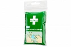 Bandaż piankowy Cederroth Soft Foam Bandage Blue 6x40 cm REF 666150