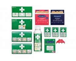 Wkłady uzupełniające wyposażenie apteczek