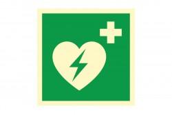 Znak AED