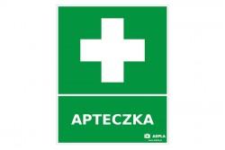 Znak apteczka pierwszej pomocy