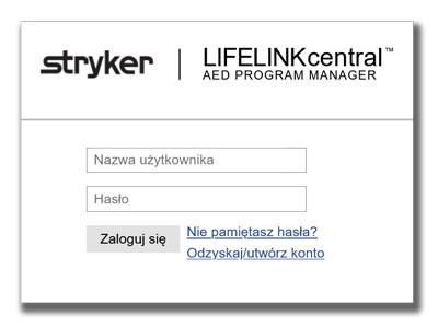 LIFELINKcentral Defibrylator AED Lifepak